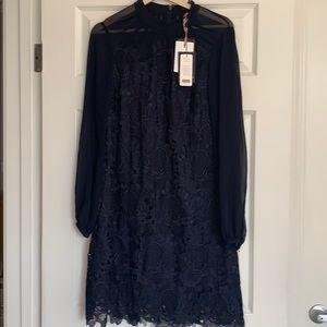 Ted bake long sleeve lace dress